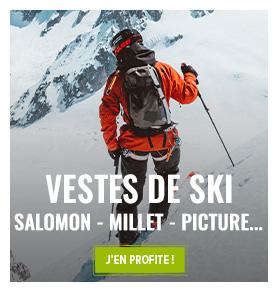Profitez des derniers modèles Vestes de ski Homme encore en stock !