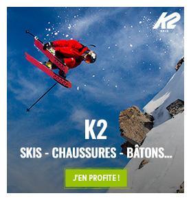Découvrez notre collection Hiver K2 : Ski, Ski de Randonnée, Chaussures de ski..