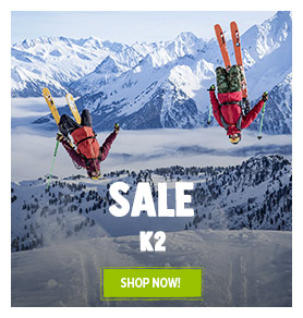 It's Summer sale on K2! Until 50% off on K2's products