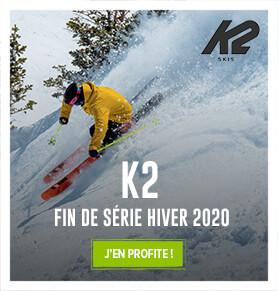 Profitez des fins de séries Hiver 2020 chez K2