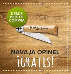 Navaja Opinel gratis desde 150€ de compra