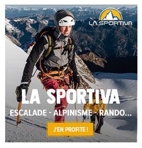 Découvrez les produits de la marque La Sportiva : chaussures d'escalade et d'alpinisme !