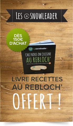 Un livre de recette reblochon offert !