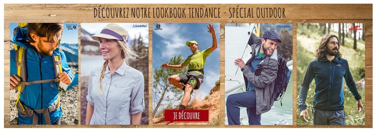 Découvrez notre lookbook spécial outdoor !