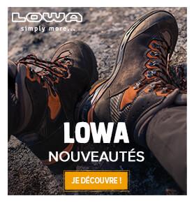 Découvrez toutes les nouveautés Lowa !
