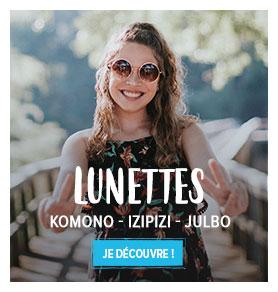 Découvrez l'ensemble de notre rayon Lunettes de soleil: Izipizi, Komono, Julbo...etc