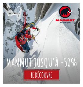 mammut jusqu'à -50% !