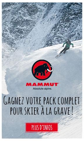 Gagnez votre pack complet pour skier à La Grave avec Mammut !