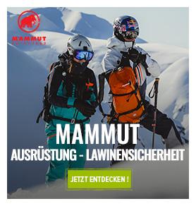 Mammut : Ausrüstung und lawinensicherheit
