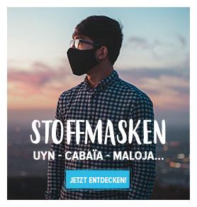 Entdecken Stoffmasken : Maloja, Uyn, Cabaïa...