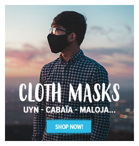 Come discover Cloth Masks : Uyn - Cabaïa - Maloja !