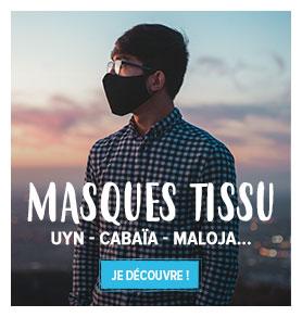 Découvrez notre gamme de masques en Tissu : Maloja, Cabaïa, Uyn...