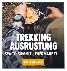 Jetzt Entdecken Trekking Aüsrustung : Sea to Summit, Thermarest, MSR…