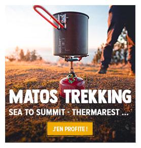 Découvrez tous les produits de notre rayon Matériel de Trekking : Sea to Summit, Thermarest, MSR …