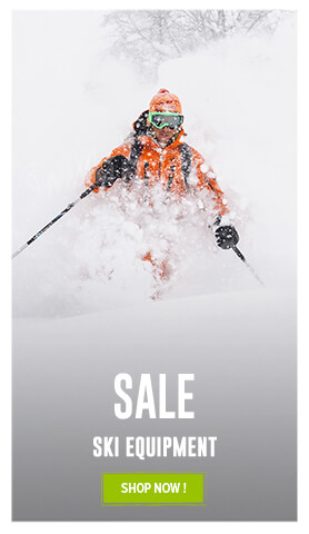 It's the Sale ! Come discover our ski Equipment's assortment on sale