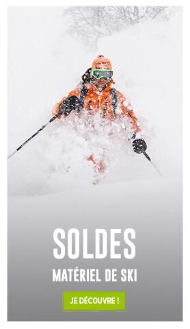 C'est les soldes ! Découvrez notre gamme Matos de ski en soldes !
