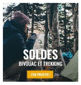 C'est les soldes d'hiver ! Profitez de promotions jusqu'à -70% sur le matériel Bivouac/Trekking