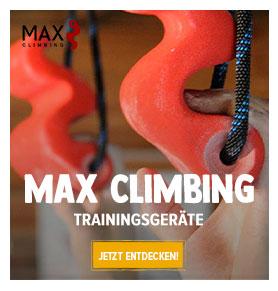 MAX CLIMBING : Trainingsgeräte für Klettern!