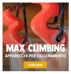 MAX CLIMBING : apparecchi per l'allenamento !