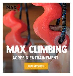 Continuez de vous entrainer chez vous avec les agrès d'entrainement Max Climbing !