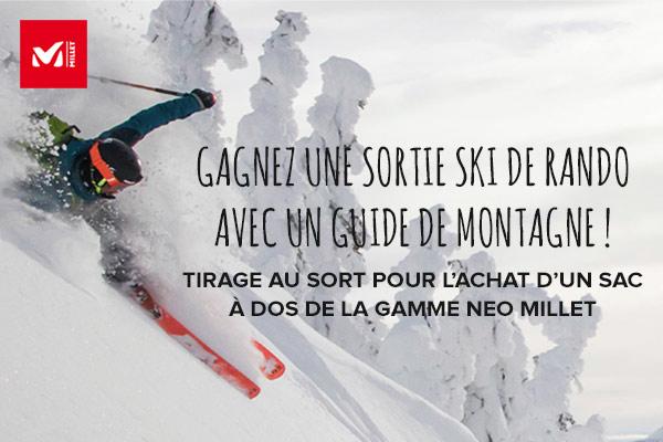 Gagnez une sortie ski de rando avec un guide de montagne !