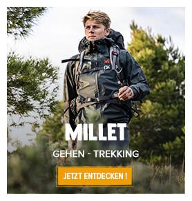 Entdecken Sie die Wanderprodukte der Marke Mille