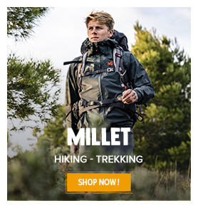 Come discover our Hiking-Trekking Millet assortment!