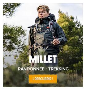 Découvrez les produits de randonnée et trekking Millet !