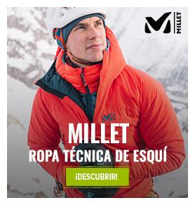 Descubre Millet : Ropa técnica de esqui