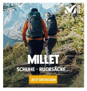 Entdecken Millet : Bergsteigen, Klettern, Wandern !