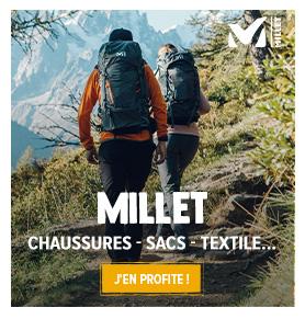 Découvrez les produits de la marque Millet : Escalade, Alpinisme, Randonnée !