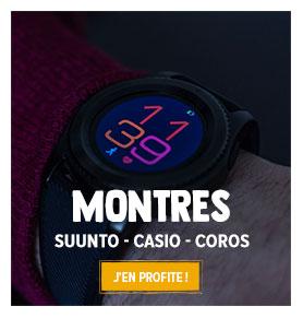 Découvrez notre rayon Montres Outdoor et Multisports: Suunto, Casio, Coros...