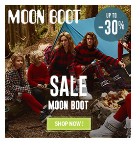 Up to 30% off on Moon Boot products!