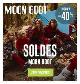 Jusqu'à -40% sur les produits Moon Boot
