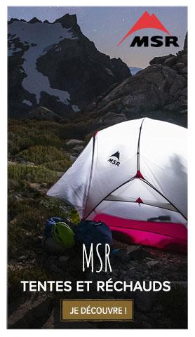 MSR : tentes et matériel de camping