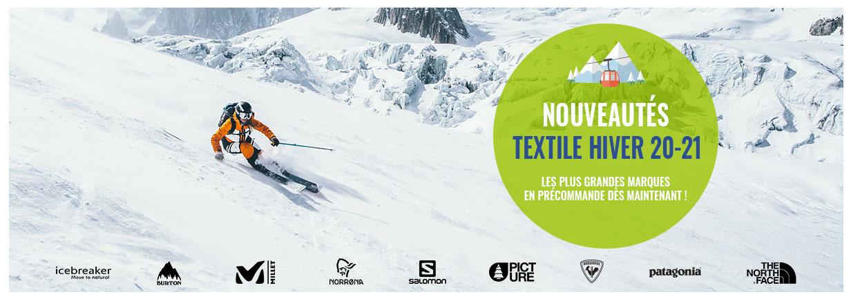 Découvrez toutes les nouveautés de notre rayon Textile technique Snow !
