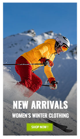 Come discover Women's Technical Clothing's new arrivals Winter 20-21!