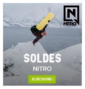 Profitez des soldes avec la marque Nitro !