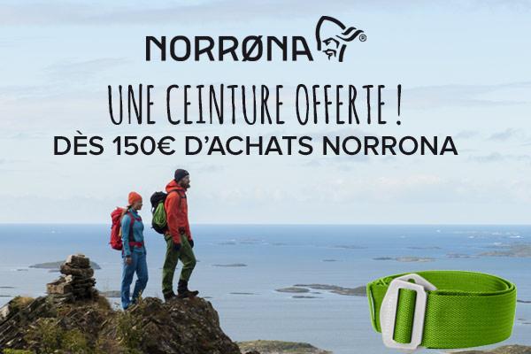 Ceinture offerte dès 150€ d'achats Norrona