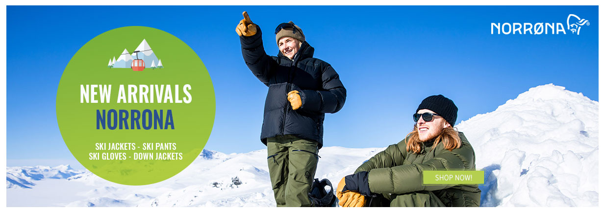 Discover our new arrivals Norrona !