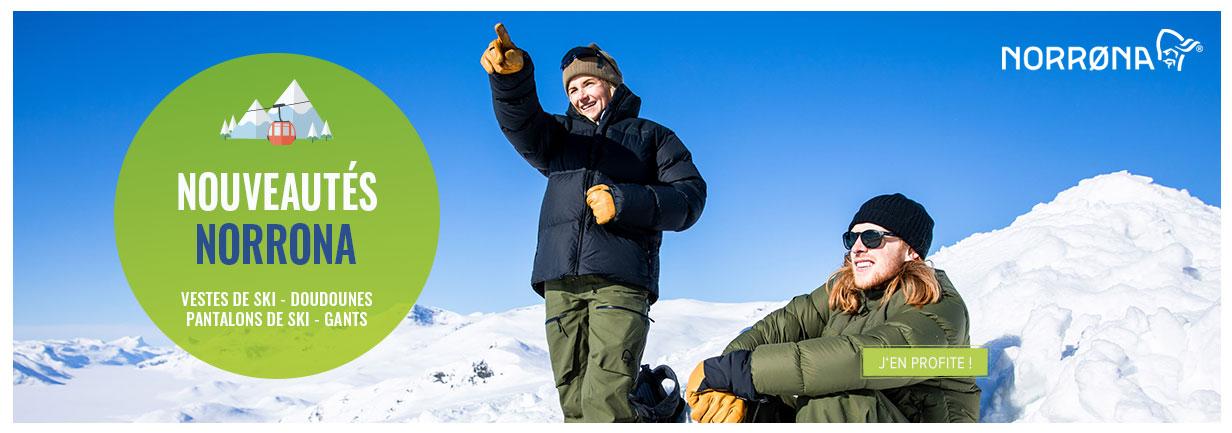 Découvrez la nouvelle collection hiver Norrona !