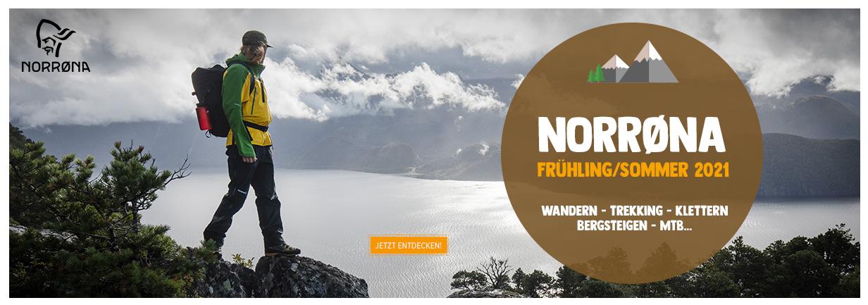 Entdecken Norrona : Wandern - Trekking - Klettern - MTB...