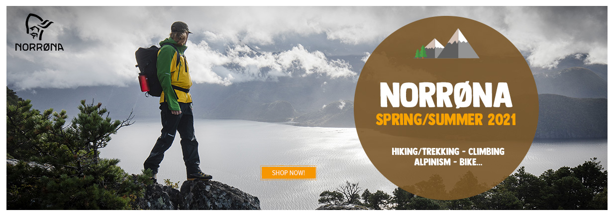 Discover our new arrivals Norrona about Spring/Summer season!