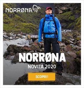 Novita Norrona 2020 :  Abbigliamento, Zaini…