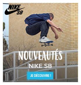 Découvrez les nouveautés Nike SB !