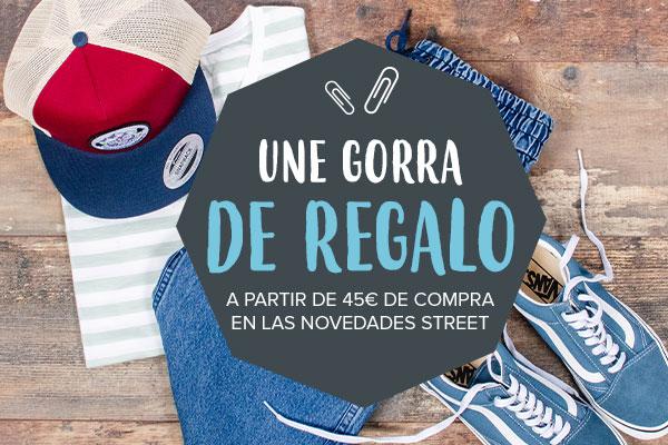 Una gorra Snowleader de regalo a partir de 45€ de compra en las novedades Street !