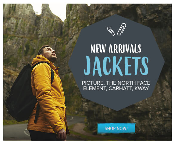 Come discover our new men's jackets arrivals !