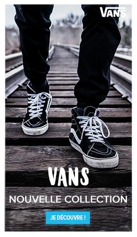 Découvrez la nouvelle collection Vans !