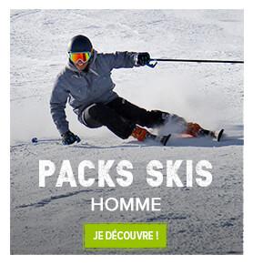 Découvrez nos packs skis pour homme !