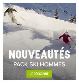Découvrez les nouveautés packs skis homme !